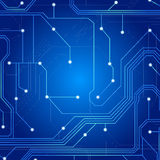 Circuit board for pc use Royalty Free Stock Photography