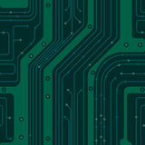 Circuit board. PCB Stock Image