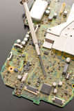 Circuit Board Repairs Royalty Free Stock Photo
