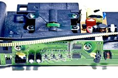 Circuit board of a scanner Stock Photos