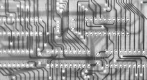 Circuit board scheme royalty free stock photos