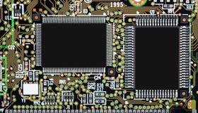 smd circuit board stock image image of semiconductor 22614161 rh dreamstime com 0402 Footprint Dimensions Circuit Board Stencil