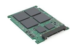 Circuit Board of an SSD Stock Photos
