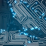 Circuit board. Technology background Royalty Free Stock Photos