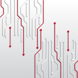 Circuit board texture Stock Images