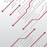 Circuit board texture Royalty Free Stock Photo