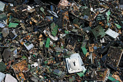 Circuit board trash Stock Images