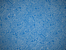 Circuit board vector background Royalty Free Stock Image