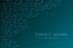 Free Circuit Board Vector Background. Digital Backdrop. Royalty Free Stock Photos - 139042218