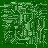 Circuit board vector background Stock Images