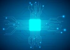 Circuit board vector background Stock Photos