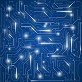 Circuit board vector background Royalty Free Stock Photography