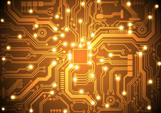 Circuit board vector background vector illustration Stock Photo