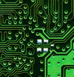 Circuit boards. Close up of circuit board royalty free stock image