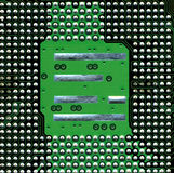 Circuit boards. Close up of circuit board royalty free stock photo