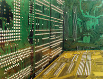 Circuit boards. Close up of circuit boards Royalty Free Stock Photos