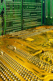 Circuit boards. Close up of circuit boards Stock Images