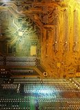 Circuit boards. Close up of circuit boards stock photography