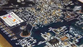 Circuit Boards, Electronics, Computers stock video footage