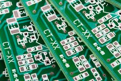 Circuit boards Stock Image
