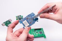 Circuit boards Stock Photo