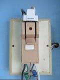 Circuit breaker Stock Image