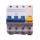 Circuit Breaker three phase Royalty Free Stock Image