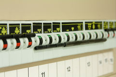 Circuit breakers Stock Photo