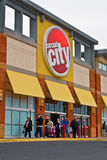 Circuit City - Winchester Closing. Circuit City store on Pleasant Valley Avenue in Winchester Virginia on January 17th 2009. Circuit City declared in mid January Royalty Free Stock Photo