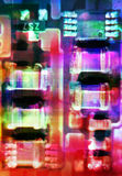 Circuit close-up Stock Photos