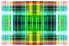 Circuit colorful background. Colorful grid background, created using Processing programming environment stock illustration