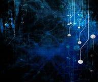 Circuit d'ordinateur Images libres de droits