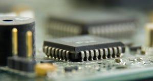 Circuit de carte mère d'ordinateur Image libre de droits