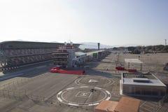Circuit de Catalunya. View from the Circuit de Catalunya in Barcelona, Spain Stock Photo