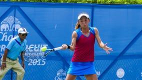 Circuit 2015 de Chang ITF (fédération internationale de tennis) pro Image stock
