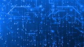 Circuit de Digital de style de Matrix illustration libre de droits