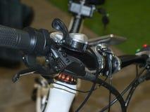 Circuit de freinage de bicyclette Photographie stock libre de droits