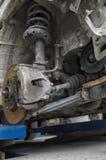Circuit de freinage d'une voiture Photos stock