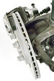 Circuit de freinage de voiture Image stock