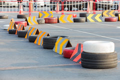 Circuit de kart photo stock