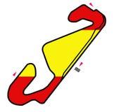 Circuit de l'Espagne : Formule 1 Photos stock