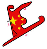 Circuit de la Chine : Formule 1 Photo stock