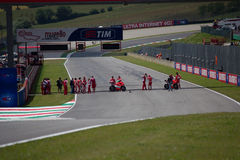 Circuit de Mugello photographie stock libre de droits