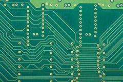 circuit de panneau électronique Photo libre de droits