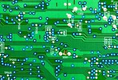 circuit de panneau électronique photographie stock libre de droits