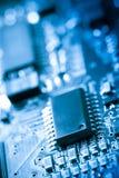 circuit de panneau électronique Photos libres de droits