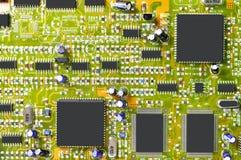 circuit de panneau Images stock
