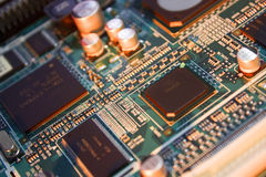 circuit de panneau Photos libres de droits
