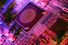 circuit de panneau Photo libre de droits