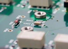 circuit de panneau estampé Image stock